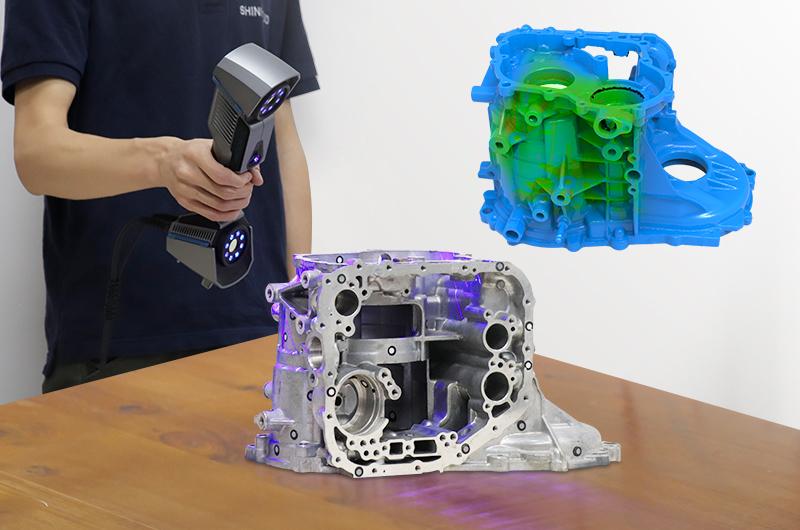 Skaner 3D Shining FreeScan UE
