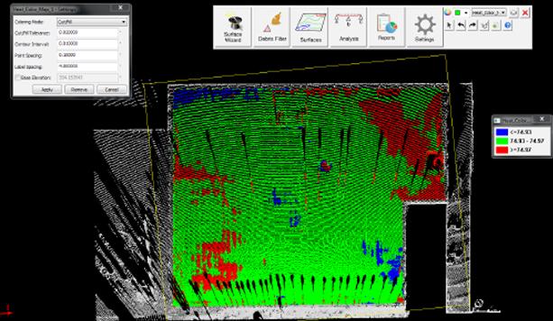 Faro Focus skanowanie 3D betonu