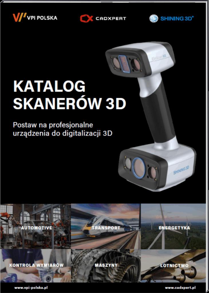 Katalog skanerów 3D