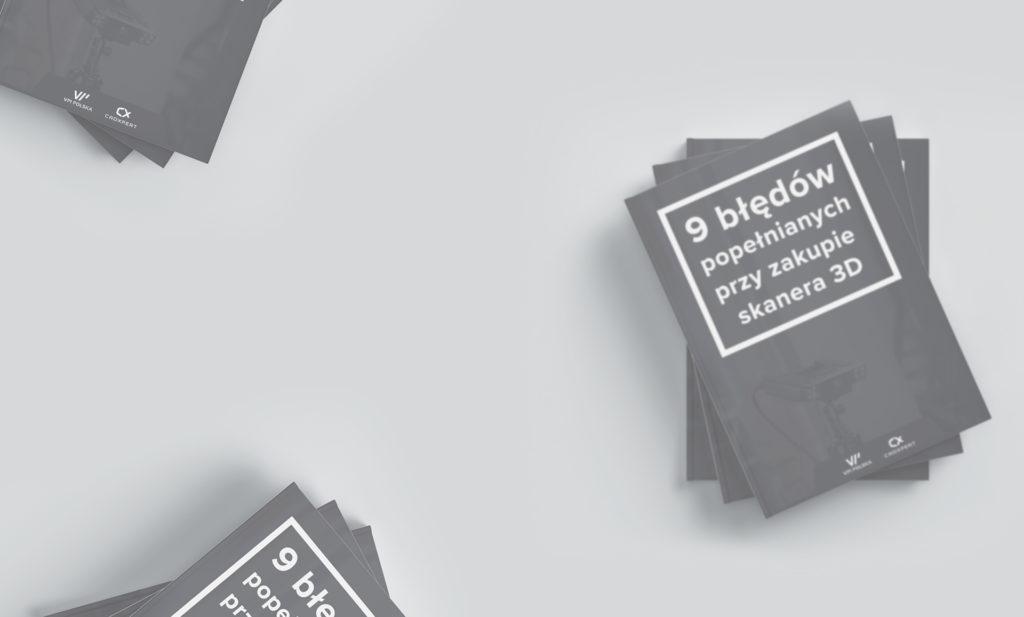 ebook 9 błędów popełnianych przy zakupie skanera 3D